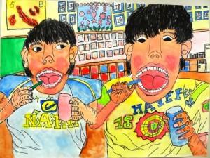 H27図画ポスター特選(高学年)04